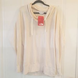North Face oversized sweater